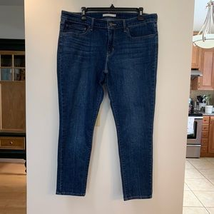 NWOT Levi's 711 Skinny Ankle Jeans